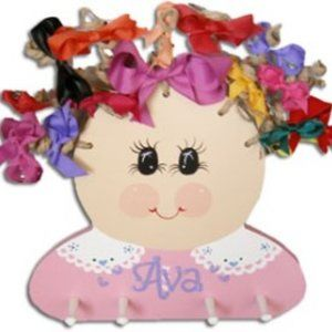 Hairbow Display Girl organizer is not personalized